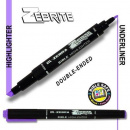 Zebrite Double-Ended Bible Highlighter: Violet
