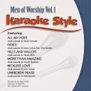 Karaoke Style: Men Of Worship Vol. 1