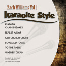 Karaoke Style: Zach Williams Vol. 1