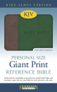 The Holy Bible: King James Version (Brown & Green)