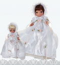 "Christening Precious Moments: 9"" (Brunette)"