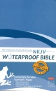 NKJV Waterproof New Testament Bible with Psalms and Proverbs (Blue)