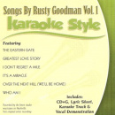 Karaoke Style: Songs By Rusty Goodman, Vol. 1